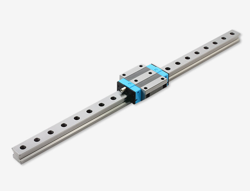 LGR Roller flange type linear guide pair